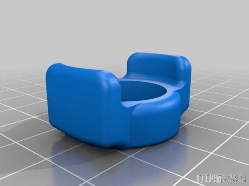 Mobius相机镜头保护器 3D模型  图2