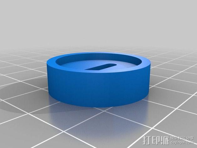 定制化磁性拾音器零部件 3D模型  图3