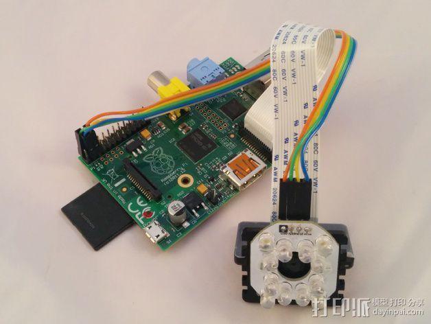 Bright Pi - 树莓派电路板零部件 3D模型  图4