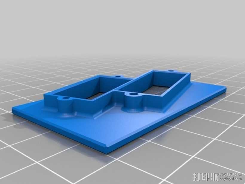 伺服托盘 3D模型  图2