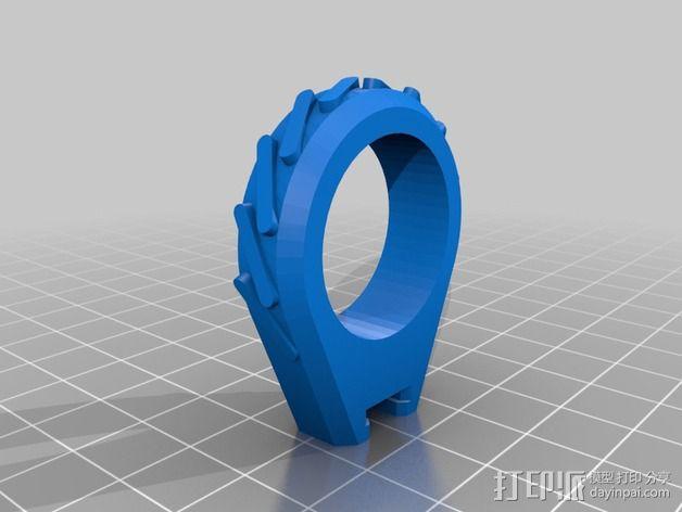 车载迷你花瓶 3D模型  图3
