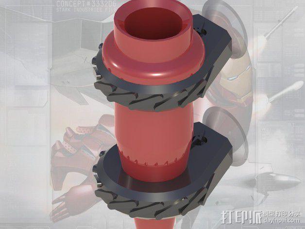 车载迷你花瓶 3D模型  图2