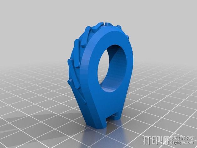 车载迷你花瓶 3D模型  图4