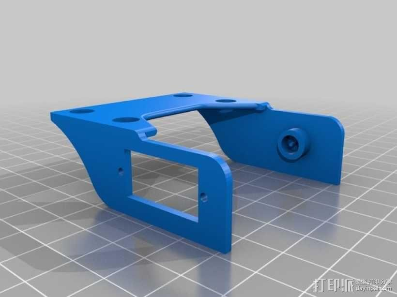 Horizon HD 1080摄像机单轴平衡环 3D模型  图3