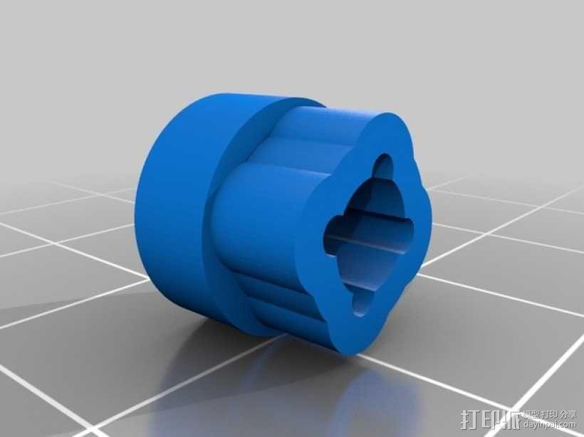 Horizon HD 1080摄像机单轴平衡环 3D模型  图2