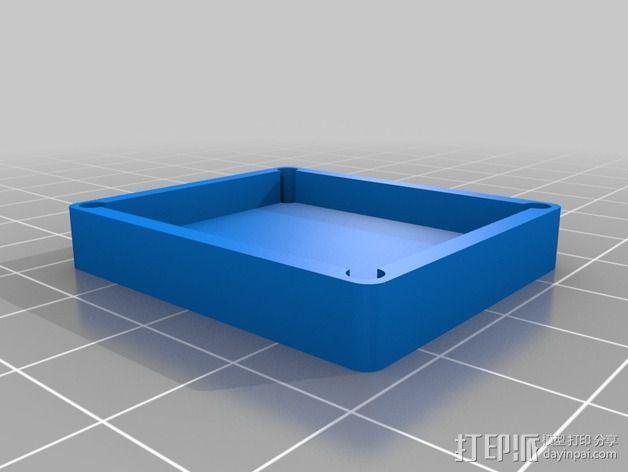 GPS固定槽 3D模型  图4