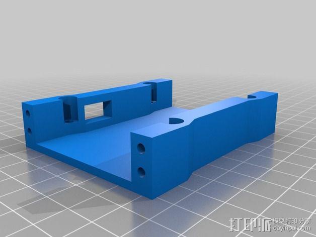 Pixhawk 四轴飞行器 支架 3D模型  图2