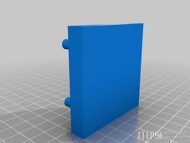 酵母瓶 支架 3D模型  图2
