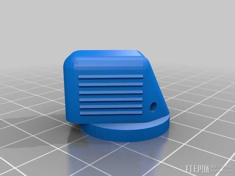 波音737飞机驾驶舱旋钮 3D模型  图2