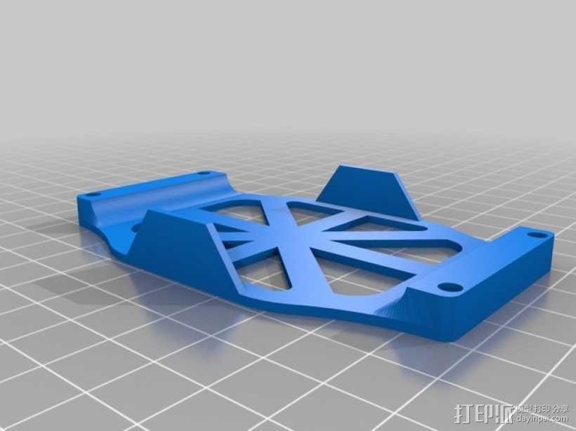 MHQ气垫船底部 3D模型  图2