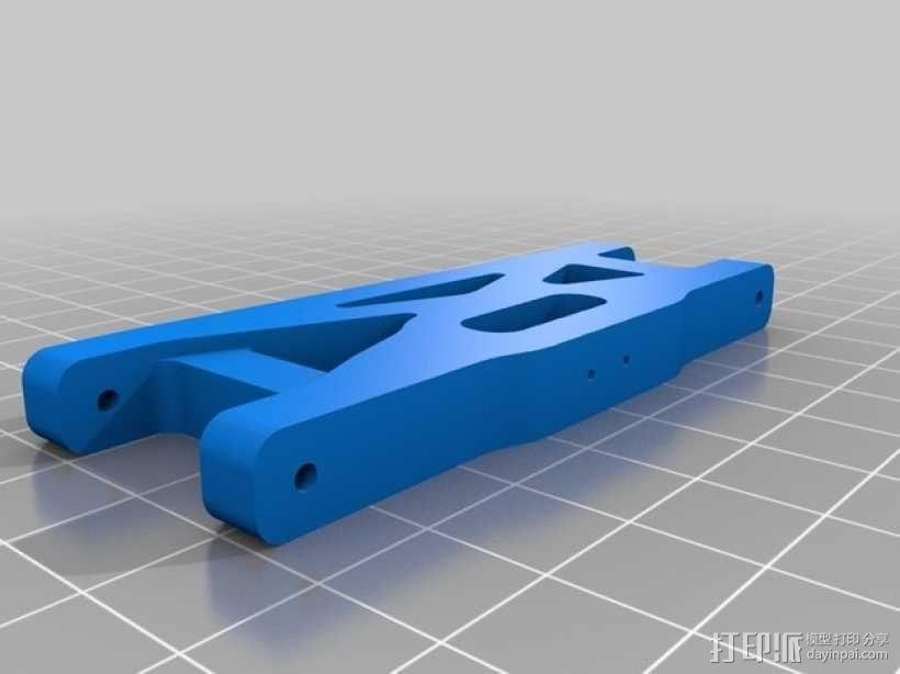 Ansmann遥控赛车吊臂 3D模型  图2