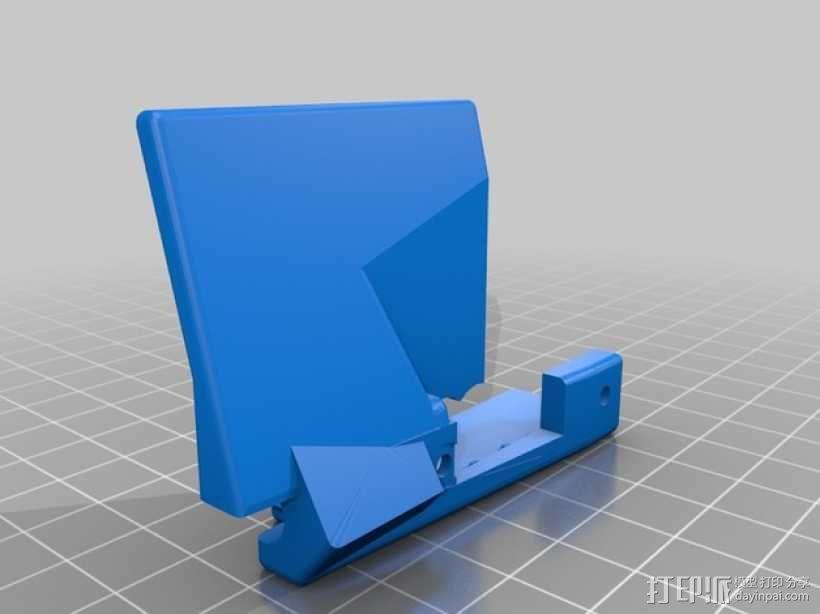 Slash遥控赛车护臂  3D模型  图2