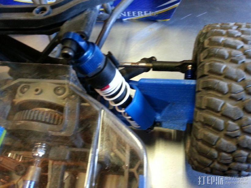 Slash遥控赛车护臂  3D模型  图5