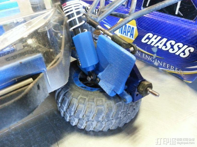 Slash遥控赛车护臂  3D模型  图4