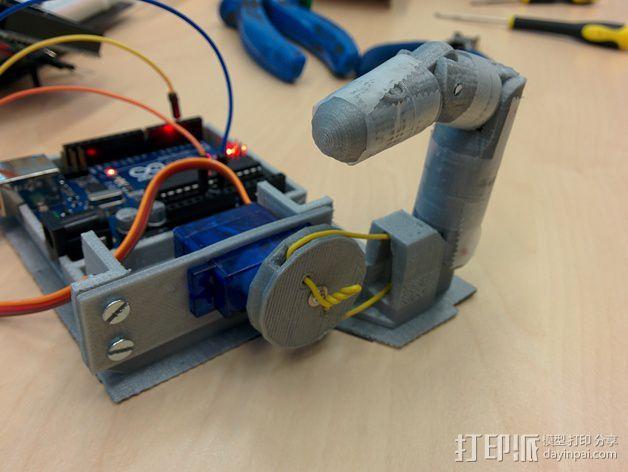 伺服适配器 3D模型  图3