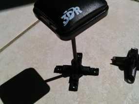 3DR uBlox GPS天线 支架 3D模型