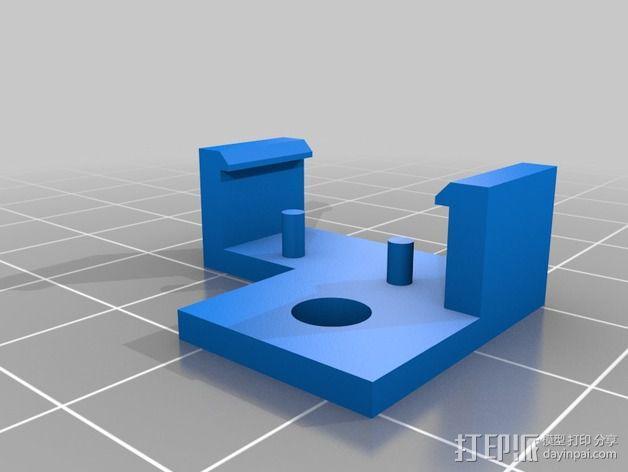 GRBL保护罩 3D模型  图2