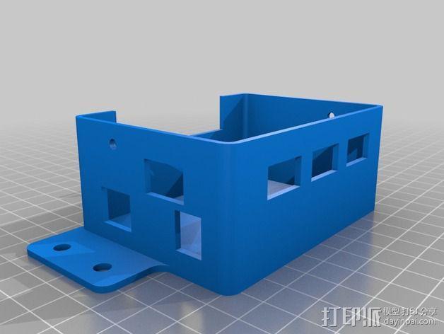 GRBL保护罩 3D模型  图3