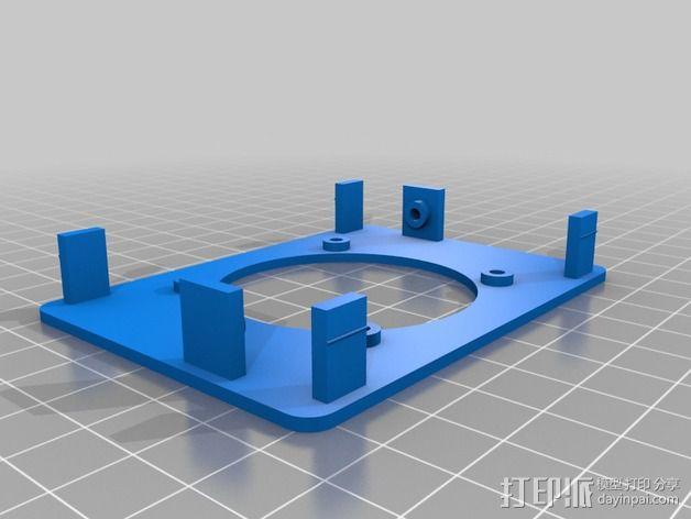 GRBL保护罩 3D模型  图4