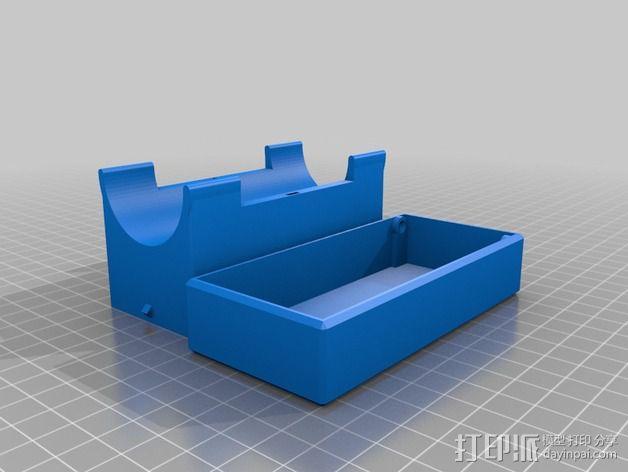铁人三项 能量棒 小盒 3D模型  图2