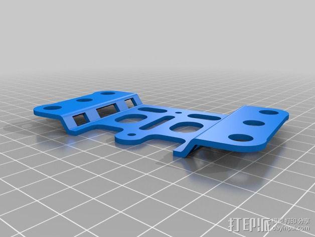 FC40摄像机防振底座 3D模型  图3