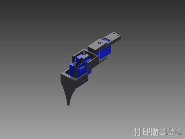 六足仿昆虫机器人 3D模型  图5