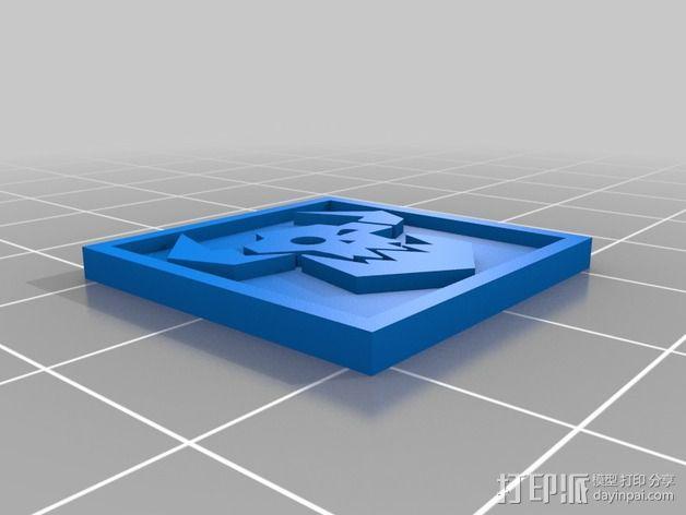 《星际迷航》半兽人图标 3D模型  图6