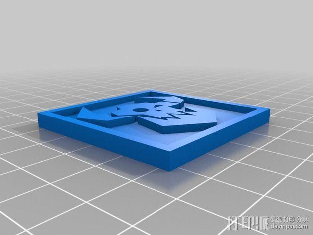 《星际迷航》半兽人图标 3D模型  图8