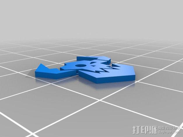 《星际迷航》半兽人图标 3D模型  图9