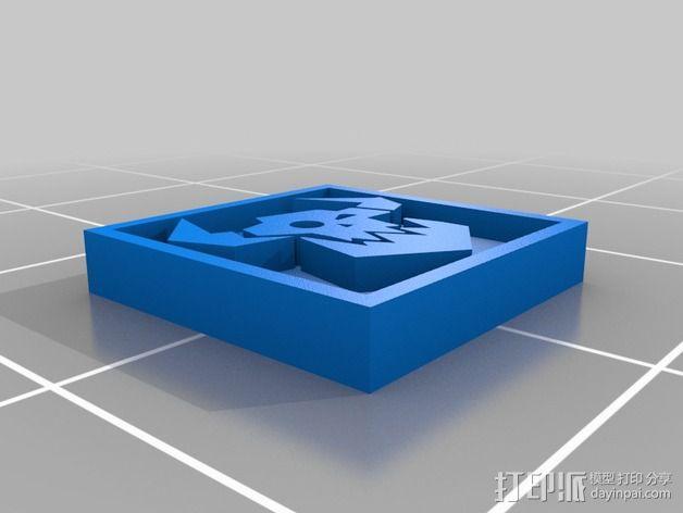 《星际迷航》半兽人图标 3D模型  图12