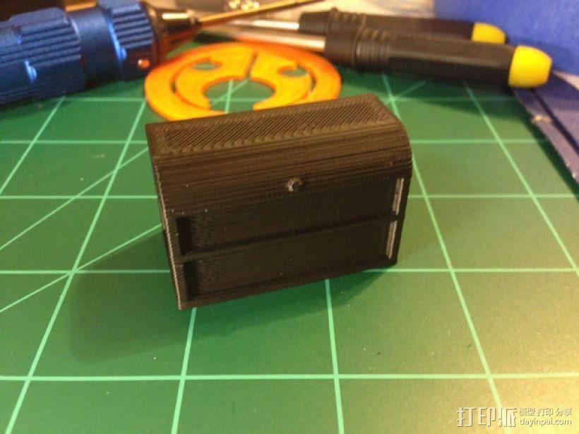 1:10遥控赛车工具箱 3D模型  图1