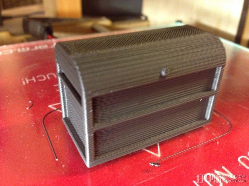 1:10遥控赛车工具箱 3D模型  图2