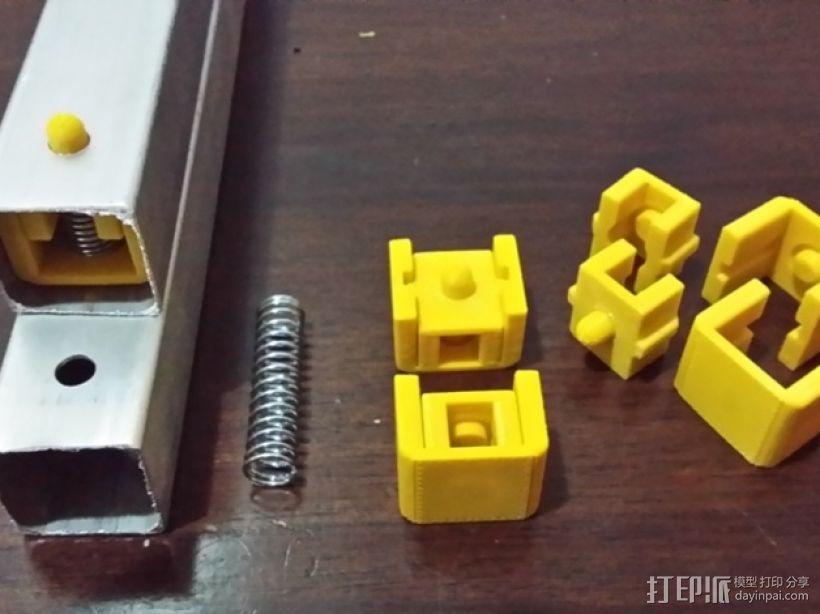 弹簧夹  3D模型  图1