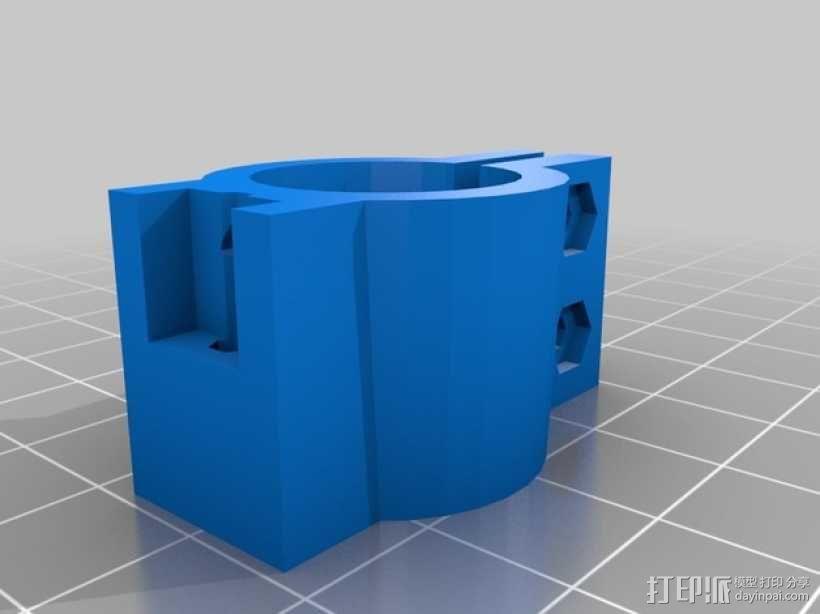 极靴/磁极头 3D模型  图2