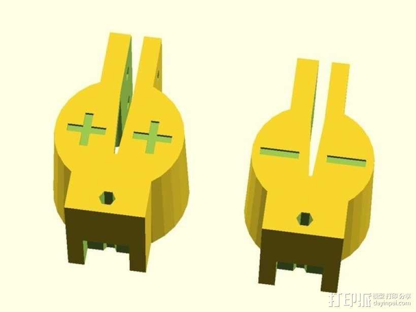 极靴/磁极头 3D模型  图5