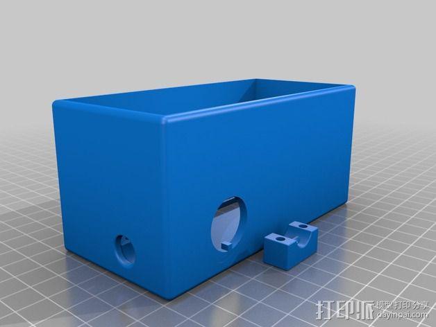 电源盖和后盖 3D模型  图3