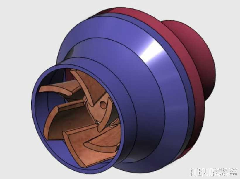 水泵/抽水机 3D模型  图1
