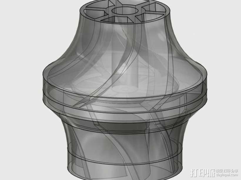 水泵/抽水机 3D模型  图2