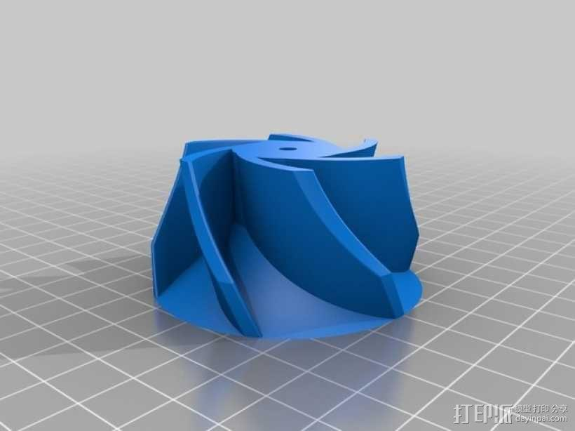 水泵/抽水机 3D模型  图4