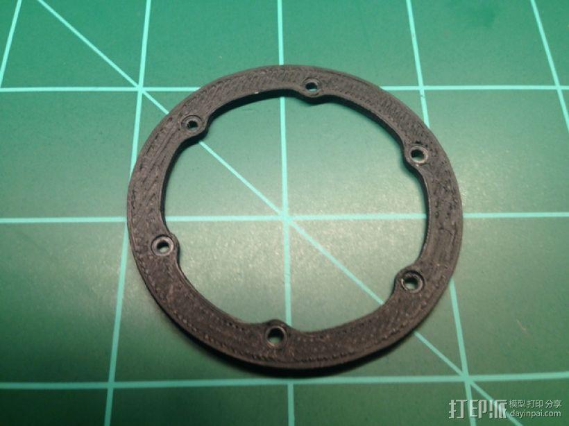 轮胎撑圈 3D模型  图1