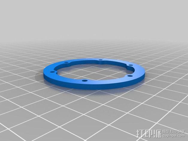 轮胎撑圈 3D模型  图2