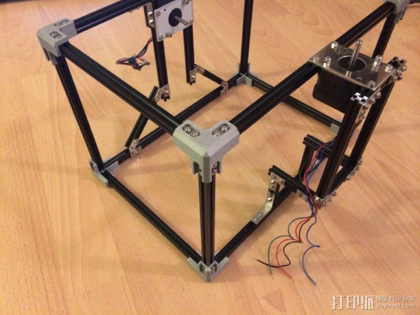 Makerbeam角接 3D模型  图1