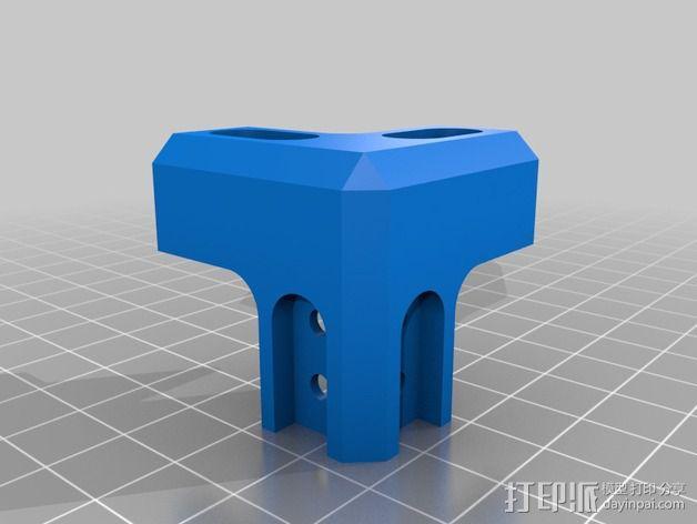 Makerbeam角接 3D模型  图2