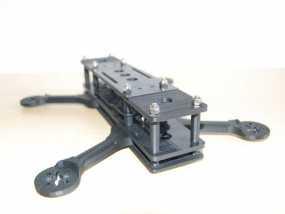 四轴飞行器框架 3D模型