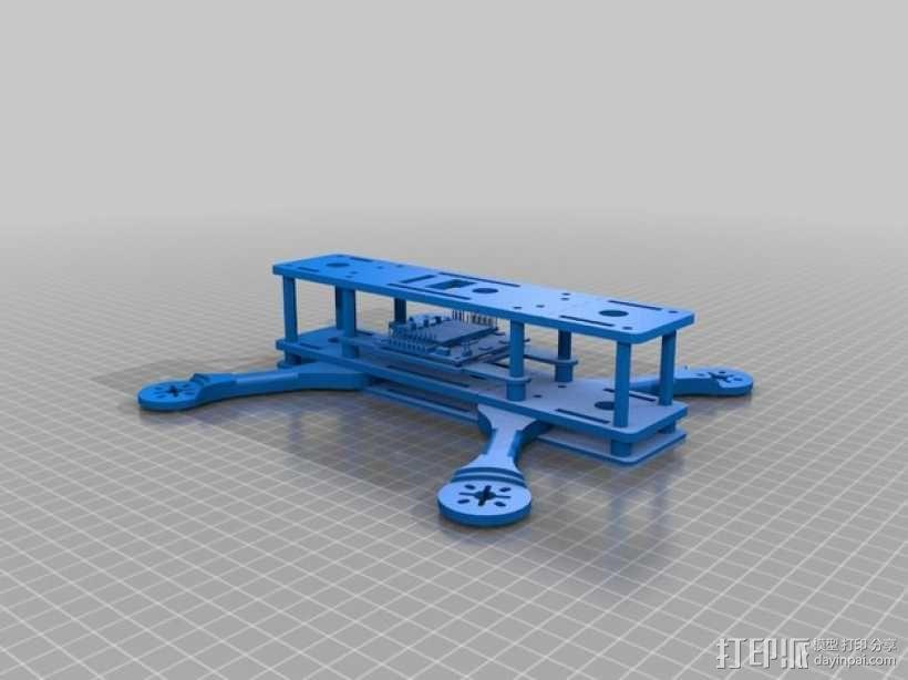 四轴飞行器框架 3D模型  图7