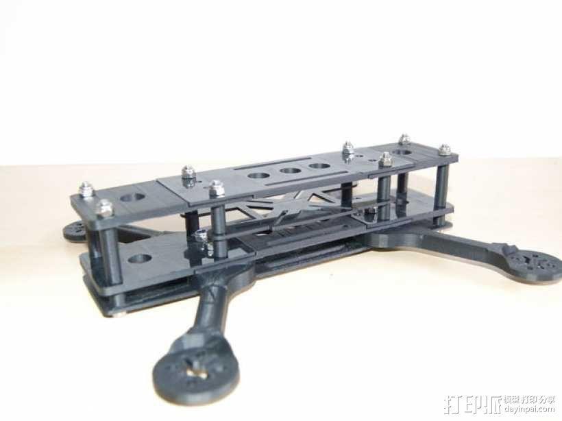 四轴飞行器框架 3D模型  图9