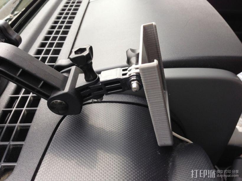 车载Gopro摄像机支架 3D模型  图4