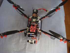 F450 TBS直升飞机延伸装配台架 3D模型