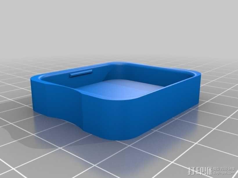 GoPro相机镜头盖 3D模型  图2