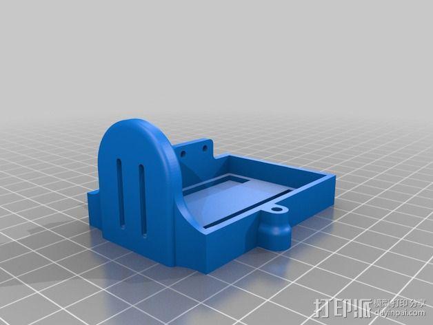 DJI Phantom 2四轴航拍器平衡环 3D模型  图7